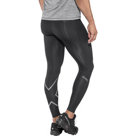 2XU Run Compressie Leggings Heren, black/ black reflective
